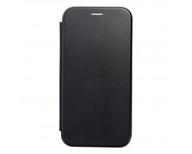 Husa Flip Carte Cu Magnet Lux Upzz Compatibila Xiaomi Mi 11 Lite / Mi 11 Lite 5G, Negru