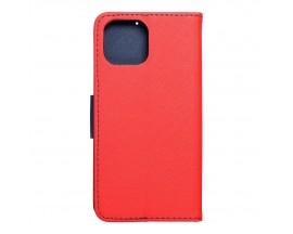 Husa Flip Carte Upzz  Fancy Book Compatibila Cu Xiaomi Mi 11 Lite / Mi 11 Lite 5G, Rosu