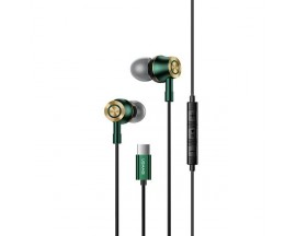 Casti Handsfree Stereo Usams Cu Mufa Type-C, Ep-43, Negru
