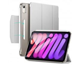 Husa Esr Ascend Trifold Compatibila Cu iPad 6 Mini 2021, Silver Gri