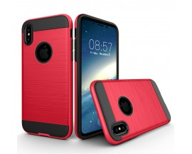 Husa Anti-shock Pro Plus iPhone X,iphone 10 Rosu