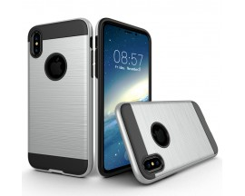 Husa Anti-shock Pro Plus iPhone X,iphone 10 Silver