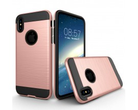Husa Anti-shock Pro Plus iPhone X,iphone 10 Rose Gold