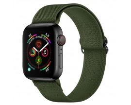 Curea Upzz Tech Mellow Compatibila Cu Apple Watch 4 / 5 / 6 / 7 / SE (42 / 44 / 45 MM), Verde