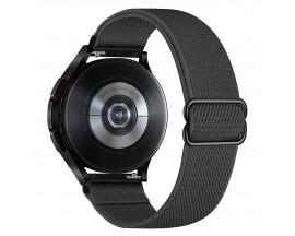Curea Upzz Tech Mellow Compatibila Cu Samsung Galaxy Watch 4, 40 / 42 / 44 / 46 MM, Gri