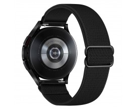 Curea Upzz Tech Mellow Compatibila Cu Samsung Galaxy Watch 4, 40 / 42 / 44 / 46 MM, Negru