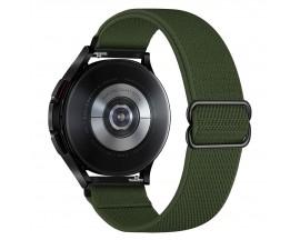 Curea Upzz Tech Mellow Compatibila Cu Samsung Galaxy Watch 4, 40 / 42 / 44 / 46 MM, Verde