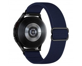 Curea Upzz Tech Mellow Compatibila Cu Samsung Galaxy Watch 4, 40 / 42 / 44 / 46 MM, Albastru Navy