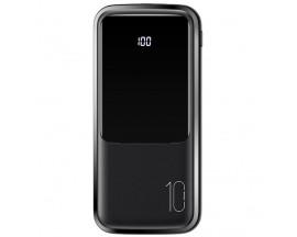 Baterie Externa Powerbank USAMS (US-CD163), 10,000 mAh, 2 Porturi USB + Micro USB / Type C, Negru