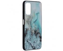 Husa Spate Premium Upzz Techsuit Glaze, Compatibila Cu Xiaomi Poco M3 Pro 5G, Blue Ocean
