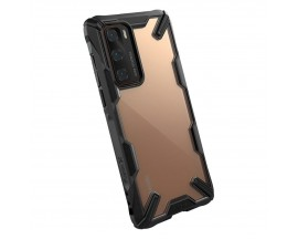 Husa Premium Ringke Fusion X  Pentru Huawei P40 , Transparenta Negru