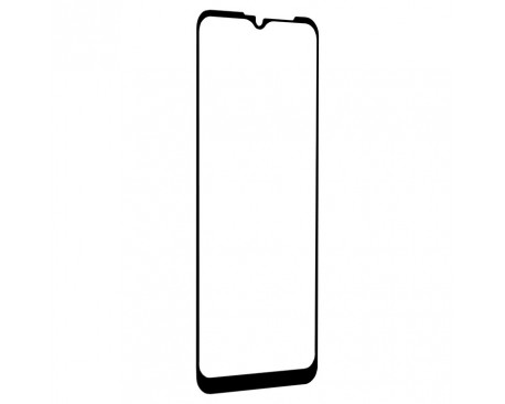 Folie Protectie Lito Full Glue Pentru Motorola Moto E7 Power, Transparenta Cu Margine Neagra