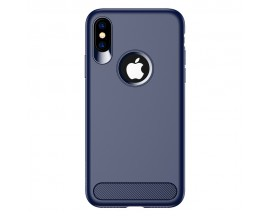 Husa Spate Usams Muze iPhone X , iPhone 10 Dark Blue