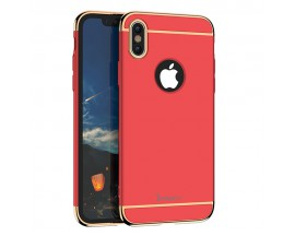 Husa 3 In1 Ipaky iPhone X,iphone 10 Rosu