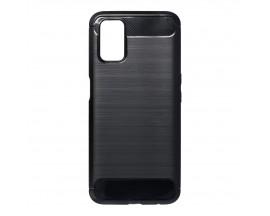 Husa Spate Upzz Carbon Pro Compatibil Cu Oppo A54 5G / A74 5G, Negru