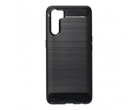 Husa Spate Upzz Carbon Pro Compatibil Cu Oppo Reno 5 Lite, Negru