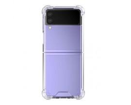 Husa Spate Goospery Case Compatibila Cu Samsung Galaxy Z Flip 3, Transparenta, Siliicon Anti Alunecare
