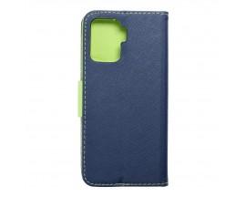Husa Flip Carte Upzz Fancy Book Compatibla Cu Oppo Reno 5 Lite, Albastru Verde