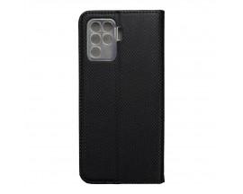 Husa Flip Carte Upzz Smart Case Compatibla Cu Oppo Reno 5 Lite, Negru