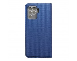 Husa Flip Carte Upzz Smart Case Compatibla Cu Oppo Reno 5 Lite, Albastru