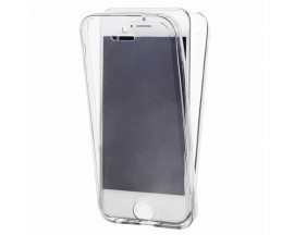 Husa 360 Grade Full Cover Silicon iPhone 5/5s/SE Transparenta