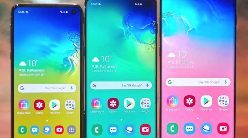 Samsung Galaxy S10 vs Samsung Galaxy S10 Plus vs Samsung Galaxy S10 Lite